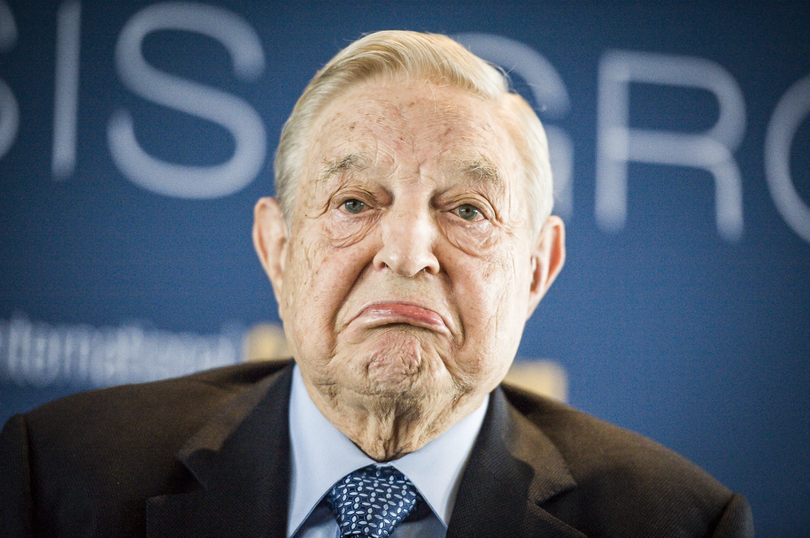 George Soros, urodzony w Budapeszcie amerykański miliarder, założyciel Fundacji Open Society /Wiktor Dąbkowski   /PAP