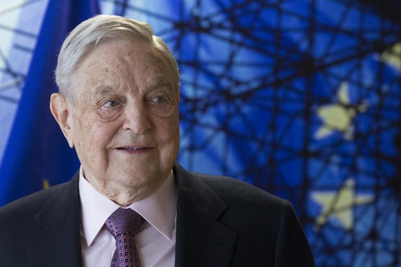 George Soros /OLIVIER HOSLET /AFP