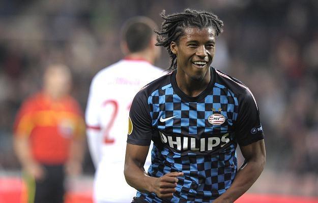 Georginio Wijnaldum, piłkarz PSV Eindhoven /AFP