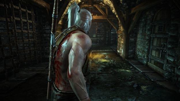 Geralt nie ma łatwego życia i doceniają to zachodnie media - gra zbiera doskonałe oceny /Informacja prasowa