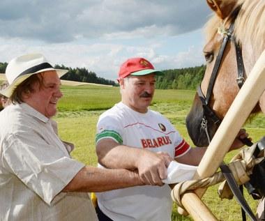 Gerard Depardieu na Białorusi