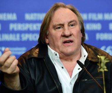 """Gerard Depardieu uznany na Ukrainie za """"zagrożenie dla bezpieczeństwa narodowego"""""""