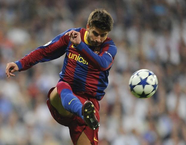 Gerard Pique, piłkarz reprezentacji Hiszpanii i Barcelony /AFP