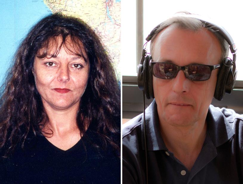 Ghislaine Dupont (z lewej) i Claude Verlon zostali zamordowani 2 listopada /RFI /AFP