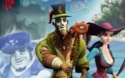 Ghost Pirates of Vooju Island - fragment okładki z gry /Informacja prasowa