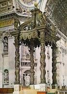 Gian Lorenzo Bernini, Konfesja nad grobem św. Piotra, Rzym, 1624-1633 /Encyklopedia Internautica