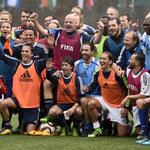 Gianni Infantino rozegrał mecz z gwiazdami futbolu