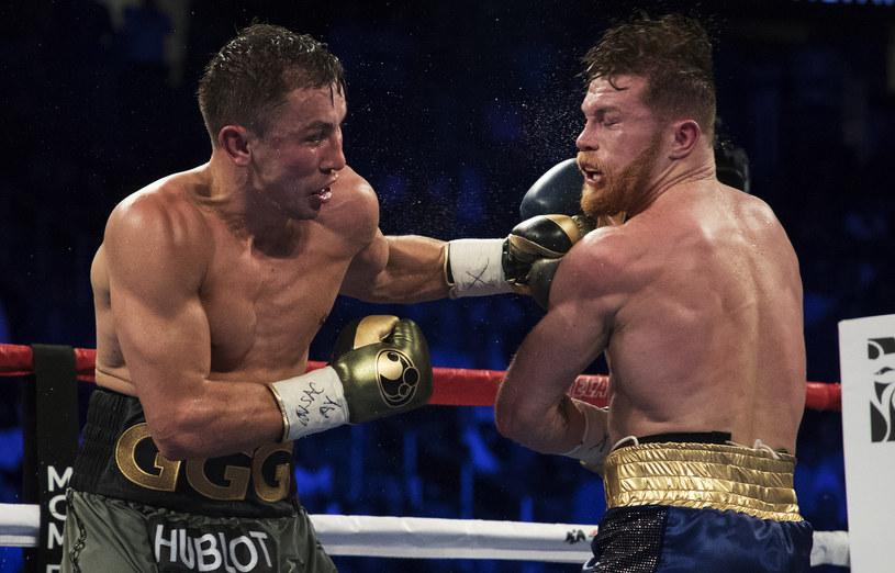 Giennadij Gołowkin (z lewej) i Saul Alvarez /Al Bello /Getty Images