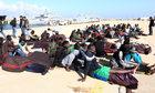 Gigantyczna akcja ratunkowa u wybrzeży Libii