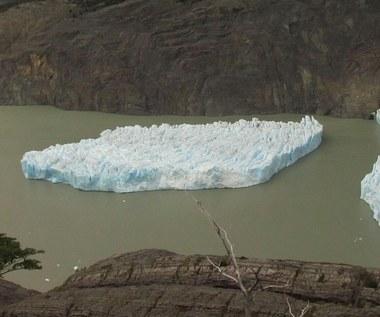 Gigantyczna bryła lodu oderwała się od lodowca Grey w Chile