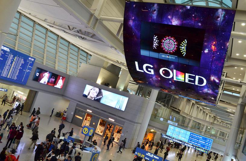 Gigantyczny panel OLED LG /materiały prasowe