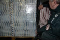 Gigantyczny przemyt papierosów