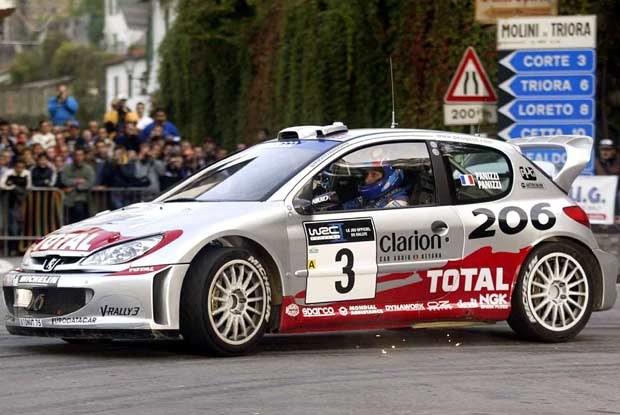 Gilles Panizzi - lider Rajdu San Remo po dwóch etapach (kliknij) /poboczem.pl