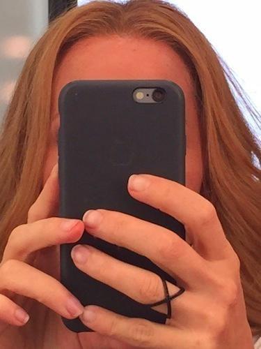 Gillian Anderson wróciła do fryzury Scully /Twitter /internet