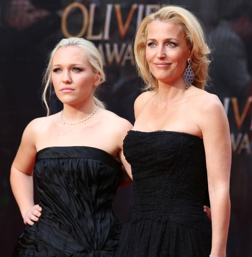 Gillian Anderson z córką Piper /East News