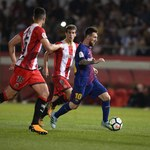 Girona - Barcelona 0-3. Messi pod wrażeniem rywala