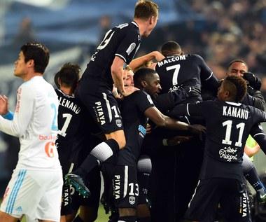 Girondins Bordeaux - Olympique Marsylia 1-1. 81 minut Lewczuka