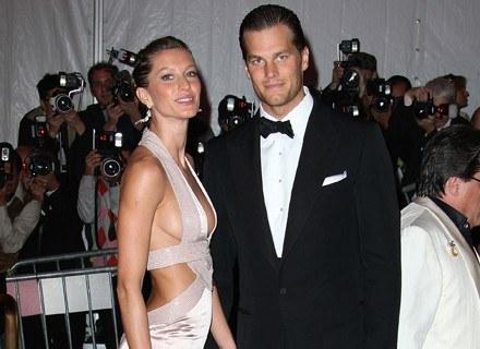 Gisele Bundchen i Tom Brady /Getty Images/Flash Press Media