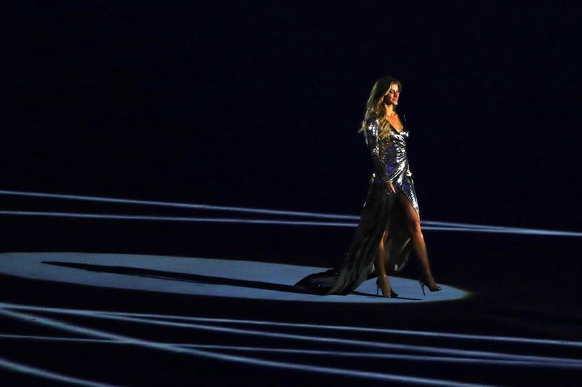 Gisele Bundchen na otwarciu igrzysk w Rio /Getty Images