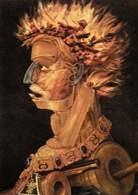 Giuseppe Arcimboldo, Ogień, 1566 r. /Encyklopedia Internautica