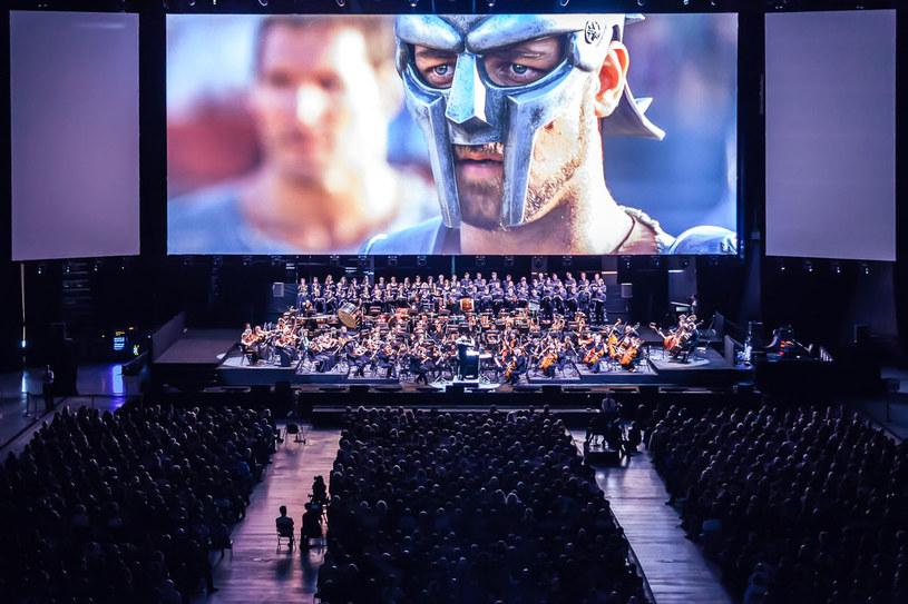"""""""Gladiator"""" z wykonywaną na żywo muzyką Hansa Zimmera, Fot. Wojciech Wandzel /materiały prasowe"""