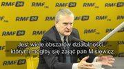 Gliński: Jest wiele obszarów działalności, którymi mógłby się zająć pan Misiewicz