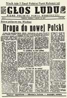 """Głos Ludu"""", 9 XII 1945 r. /Encyklopedia Internautica"""