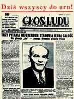 """Głos Ludu"""", niedziela 30 VI 1946 /Encyklopedia Internautica"""