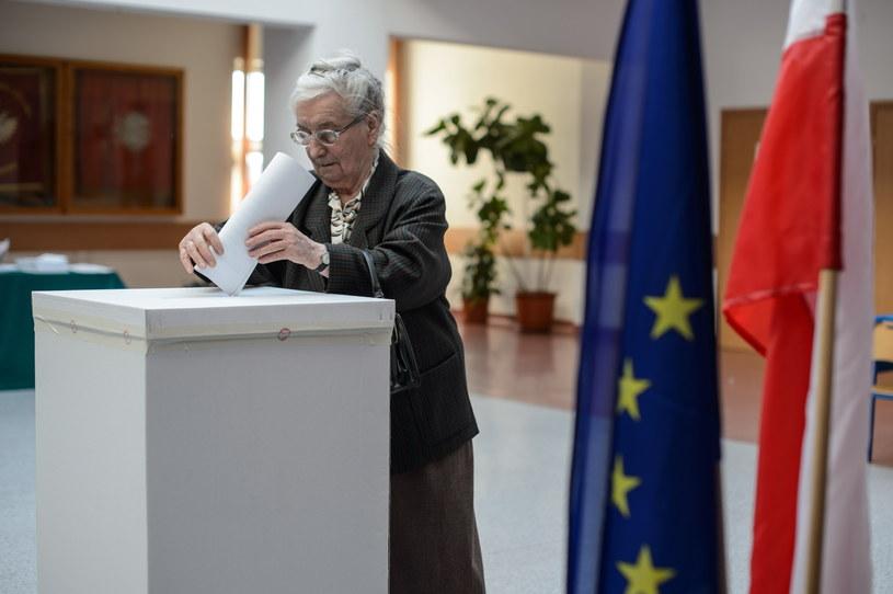 Głosowanie w Lublinie /Wojciech Pacewicz /PAP