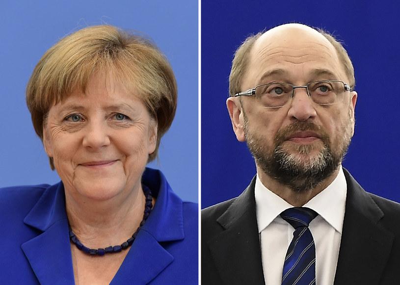 Głosowanie w Nadrenii Północnej-Westfalii to najważniejszy sprawdzian dla CDU Angeli Merkel i SPD Martina Schulza przed wyborami do Bundestagu /FREDERICK FLORIN, TOBIAS SCHWARZ /AFP