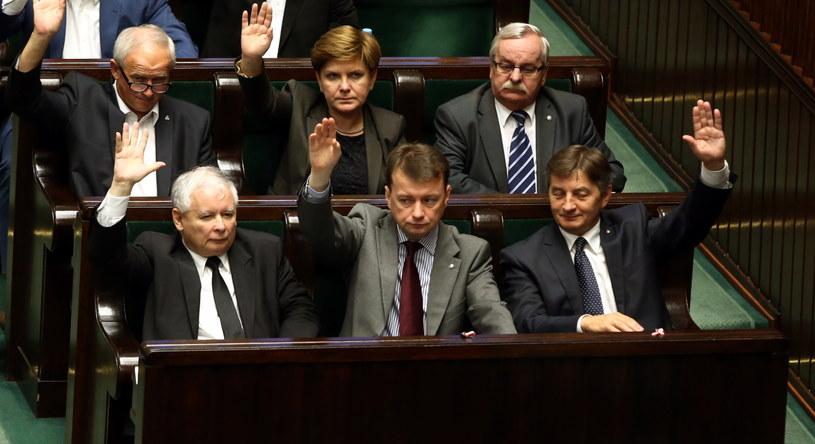 Głosowanie w Sejmie /Tomasz Gzell /PAP