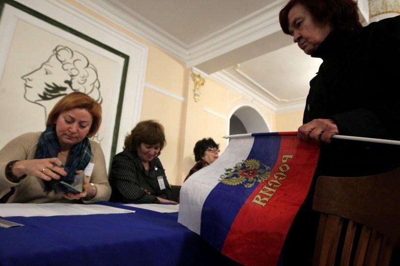 Głosowanie w Sewastopolu /PAP/EPA