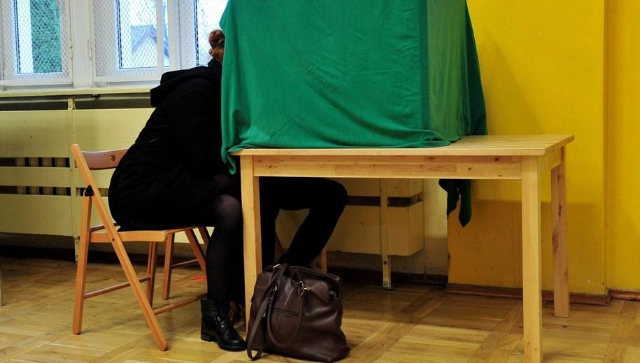 Głosowanie w wyborach potrwa do godziny 21 /Marcin Bielecki /PAP