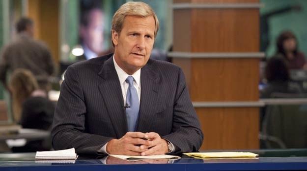 """Główą rolę w serialu """"Newsroom"""" gra Jeff Daniels. /HBO"""