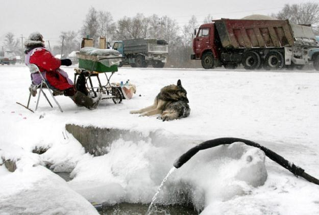 Główna droga pod Chabarowskiem /AFP