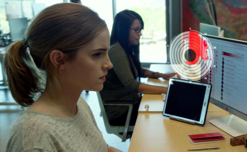 """Główną rolę w thrillerze """"The Circle. Krąg"""" gra Emma Watson /materiały dystrybutora"""