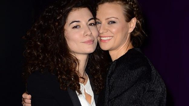 """Główne role w filmie """"W ukryciu"""" zagrały: Julia Pogrebinska i Magdalena Boczarska - fot. R. Nawrocki /Agencja FORUM"""