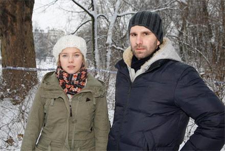 """Główne role w """"Nowej"""" zagrają: Justyna Schneider i Marcin Bosak /AKPA"""