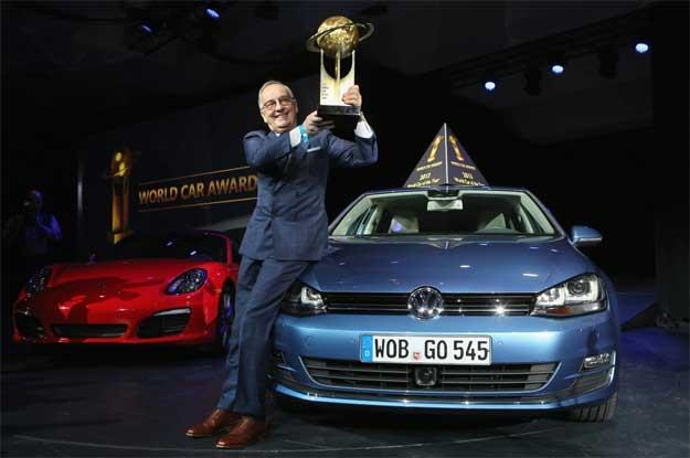 Główny projektant grupy VW Walter de Silva z nagrodami! /AFP