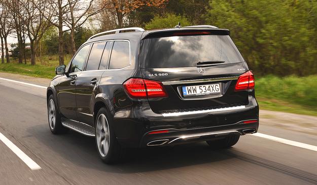 GLS mierzy 513 cm długości. Audi i BMW nie mają w ofercie SUV-ów tej klasy. /Motor