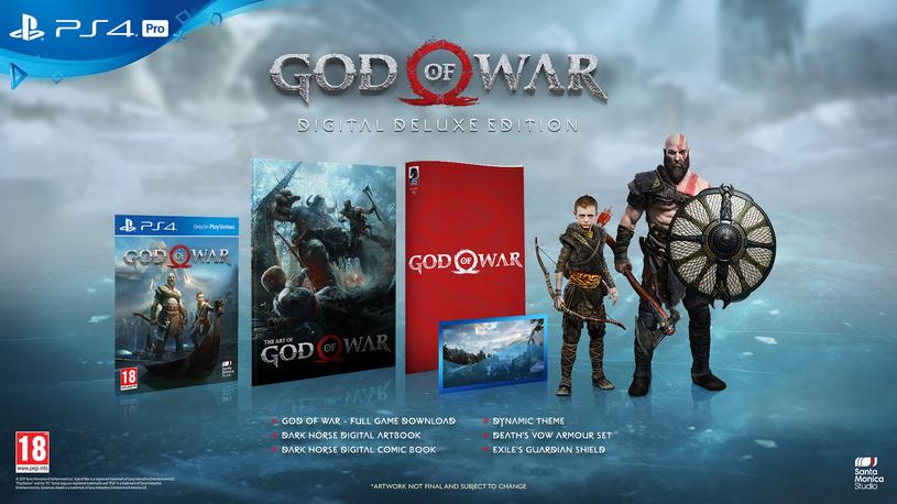 God of War - edycja kolekcjonerska /materiały prasowe