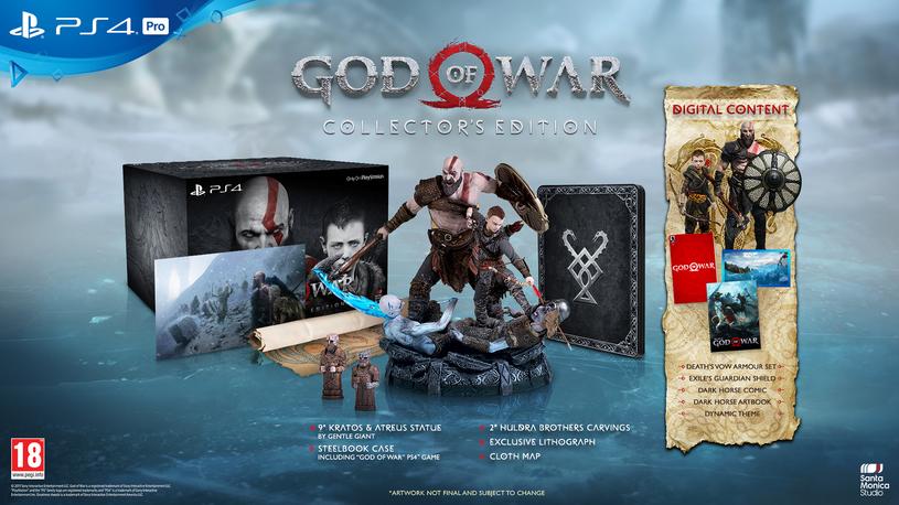 God of War - edycja limitowana /materiały prasowe