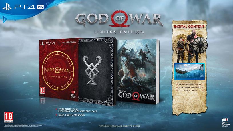 God of War - wydanie cyfrowe deluxe /materiały prasowe