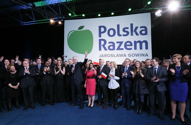 Godson podczas konwencji, na której poinformowano o powstaniu nowej partii /Paweł Supernak /PAP