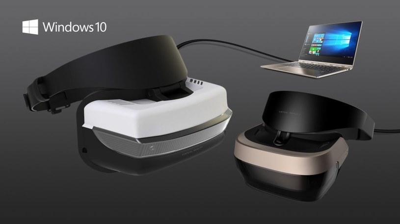 Gogle Windows VR tworzone wraz z partnerami technologicznymi Microsoftu /materiały prasowe