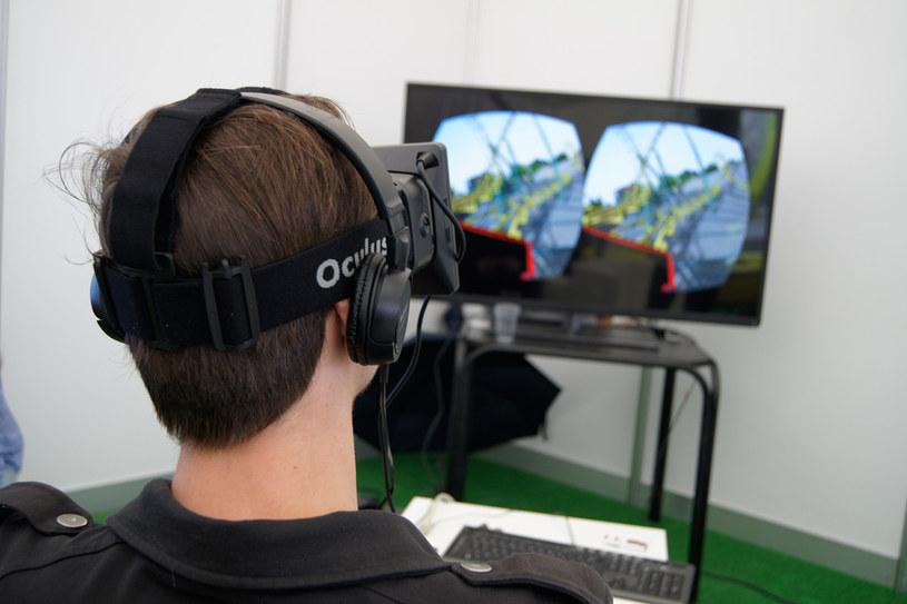 Gogle wirtualnej rzeczywistosci Oculus Rift /materiały prasowe