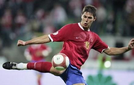 Gol Nikoli Żigicia nie pomógł Serbii /AFP