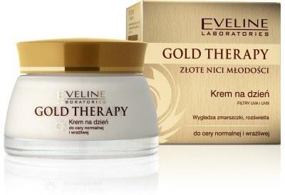 Gold Therapy krem na dzień /materiały prasowe