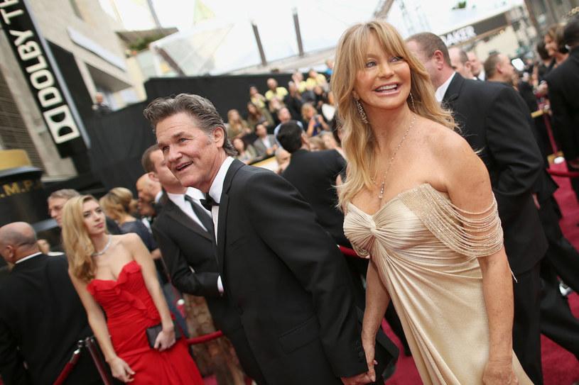 Goldie Hawn i Kurt Russel są zgodną parą. Może dlatego, że nie wzięli ślubu? /Getty Images