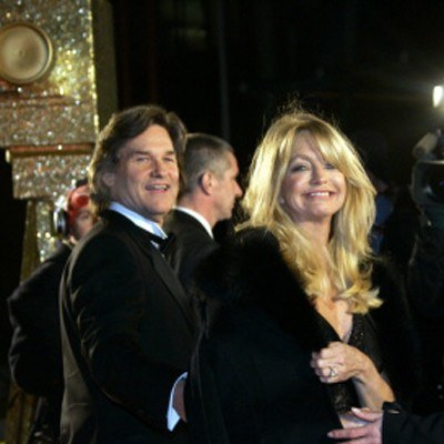 Goldie Hawn i Kurt Russell /AFP
